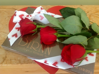 Roses and Truffles from Maplehurst Florist, local flower shop in Essex Junction