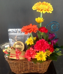 Sweets and Florals from Maplehurst Florist, local flower shop in Essex Junction