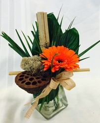 Gerbera Zen from Maplehurst Florist, local flower shop in Essex Junction