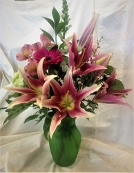 Lily Fiesta from Maplehurst Florist, local flower shop in Essex Junction