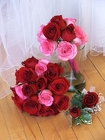 Rose Wedding Package from Maplehurst Florist, local flower shop in Essex Junction