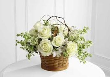 Garden Basket from Maplehurst Florist, local flower shop in Essex Junction