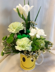 Smile Because You're Irish from Maplehurst Florist, local flower shop in Essex Junction