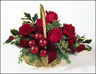 Holiday Joy from Maplehurst Florist, local flower shop in Essex Junction