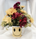 Thanks a Bunch Mug from Maplehurst Florist, local flower shop in Essex Junction