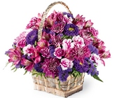 Brilliant Meadow Basket from Maplehurst Florist, local flower shop in Essex Junction