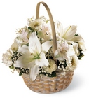Divinity Basket from Maplehurst Florist, local flower shop in Essex Junction