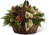 Christmas Coziness Bouquet from Maplehurst Florist, local flower shop in Essex Junction