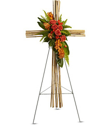 River Cane Cross from Maplehurst Florist, local flower shop in Essex Junction