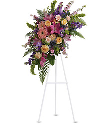 Heavenly Grace Spray from Maplehurst Florist, local flower shop in Essex Junction