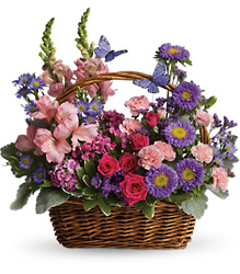 Country Basket Blooms from Maplehurst Florist, local flower shop in Essex Junction