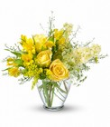 Sunny Love Bouquet from Maplehurst Florist, local flower shop in Essex Junction