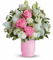 Pink and White Delight from Maplehurst Florist, local flower shop in Essex Junction