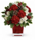 Make Merry from Maplehurst Florist, local flower shop in Essex Junction