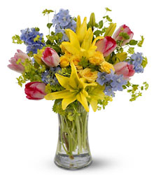 Spring Delight from Maplehurst Florist, local flower shop in Essex Junction