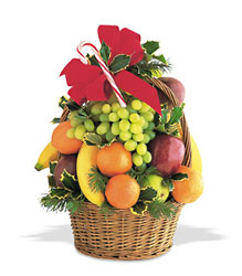 Festive Fruit from Maplehurst Florist, local flower shop in Essex Junction