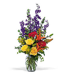 Colorful Sensation from Maplehurst Florist, local flower shop in Essex Junction