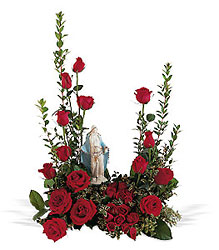 Our Lady of Grace from Maplehurst Florist, local flower shop in Essex Junction
