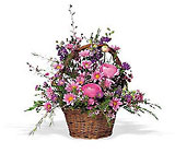 Basket of Spring from Maplehurst Florist, local flower shop in Essex Junction