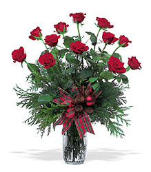 One Dozen Red Roses from Maplehurst Florist, local flower shop in Essex Junction